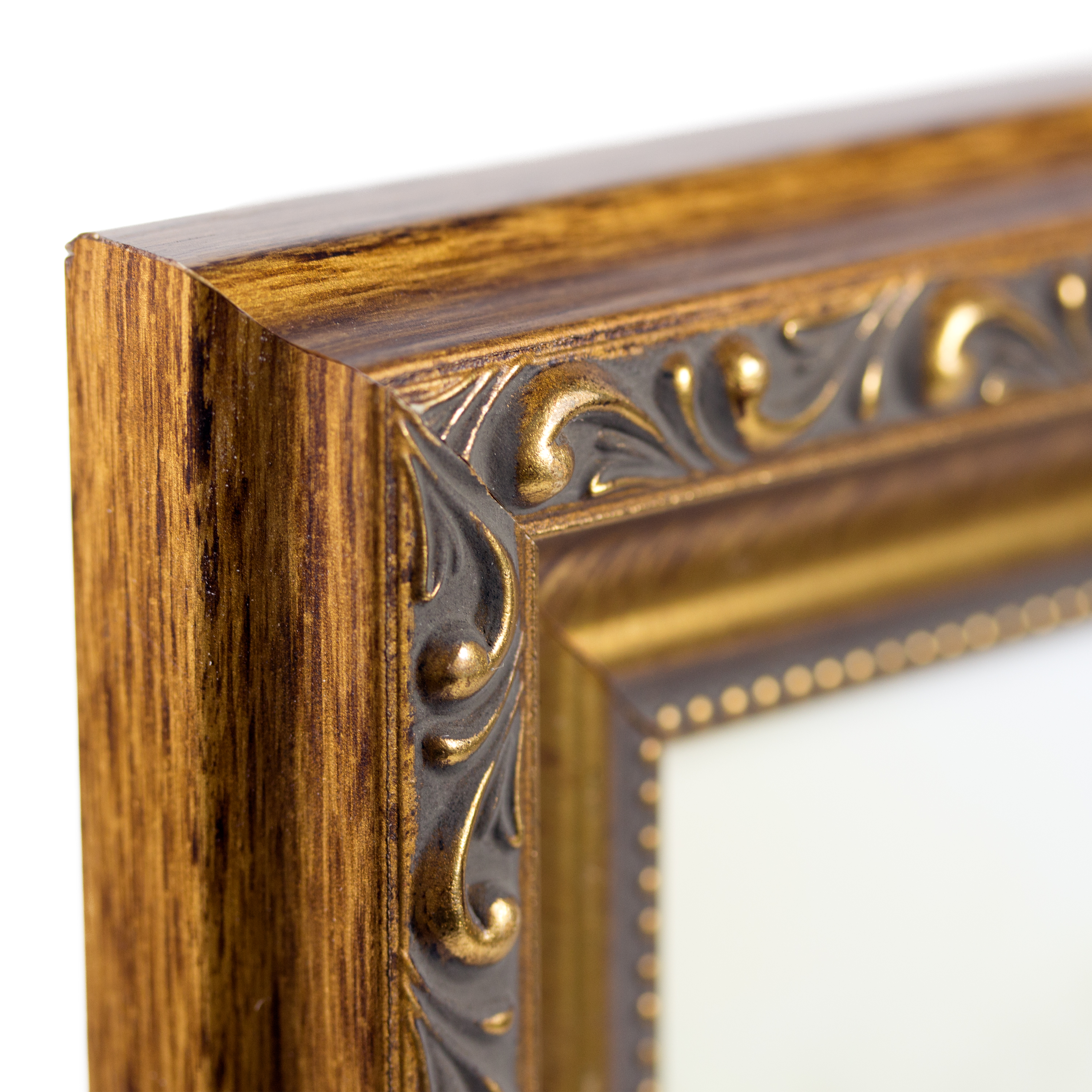 Craig frames 125 wide distressed aged gold picture frames 1 antique gold picture frame jeuxipadfo Image collections